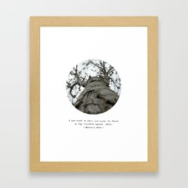 Tree [d]tales Framed Art Print
