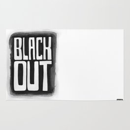 Black Out No.2 Rug