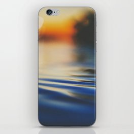 Sunset Ripples iPhone Skin