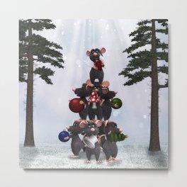 Merry Christmas - Fröhliche Weihnachten Metal Print