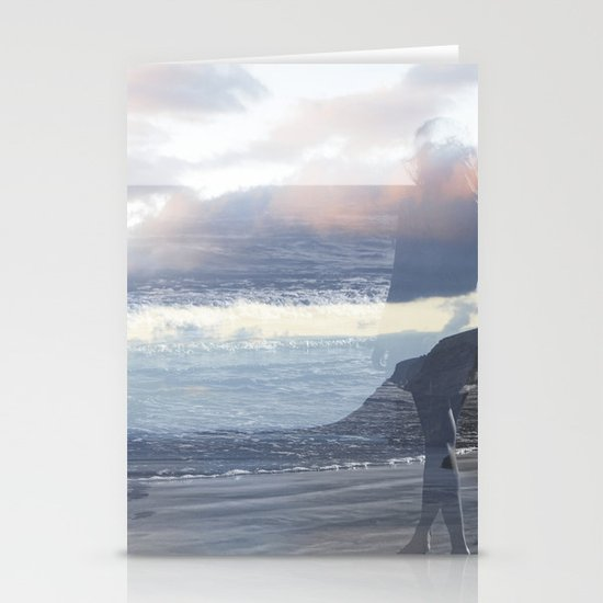Into the Wave Stationery Cards