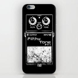 Filthy Tone Guitar Pedal iPhone Skin