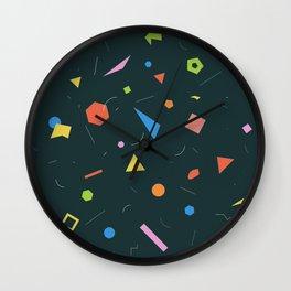 Polygon Soup Wall Clock