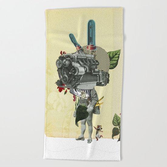 The truth is dead 3 Beach Towel