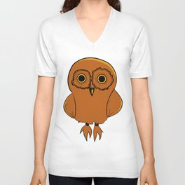 Guilty Owl Unisex V-Neck