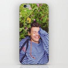 Flower Harry iPhone Skin