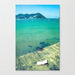 Sunchair Canvas Print