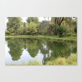 Appropriate seating Canvas Print