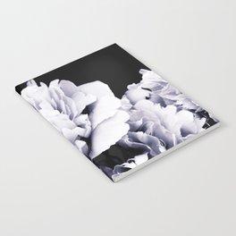 Peony Flower Bouquet Black and White #decor #society6 #buyart Notebook