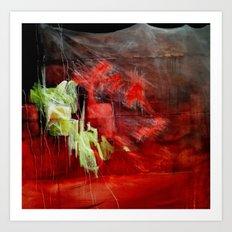 Soho Rain Art Print