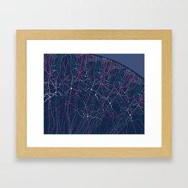 Cortex Framed Art Print