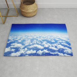 Looking Above the Clouds Rug