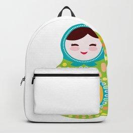 babushka doll matryoshka Backpack