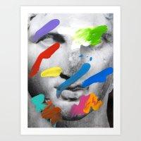 Composition 534 Art Print