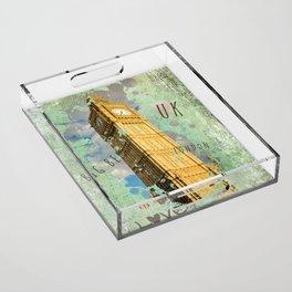 Big Ben 02 Acrylic Tray