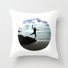 Open your mind, freedom's a state Throw Pillow