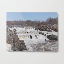 Great Falls Park Metal Print