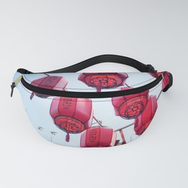 Chinese Red Lanterns 2 Fanny Pack