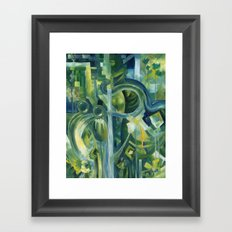 Of slugs and snakes and bottoms and two sides to things Framed Art Print