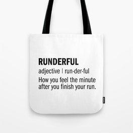 RUNDERFUL Tote Bag