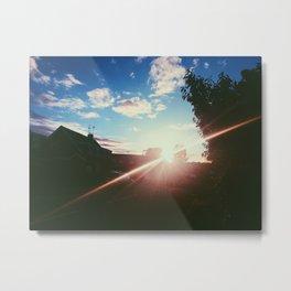 Surrey at Sunset Metal Print