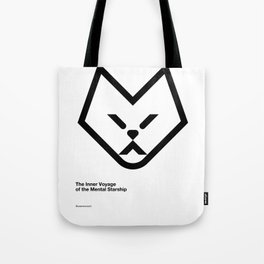 The Inner Voyage of the Mental Starship Tote Bag