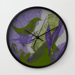 Reverence to Nature VII Wall Clock