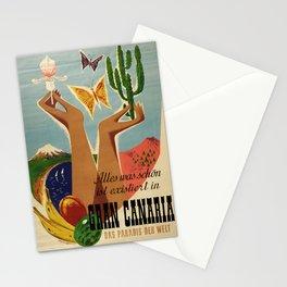 retro Gran Canaria Stationery Cards