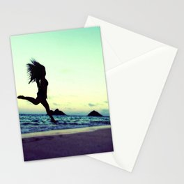 Dancing with the Wind 2 Stationery Cards