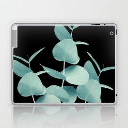 Eucalyptus Leaves Green Black #1 #foliage #decor #art #society6 Laptop & iPad Skin