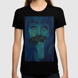 Blue Woodengirl  T-shirt