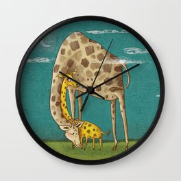 sleep well Wall Clock