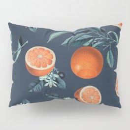 Lemon and Leaf Pattern VI Pillow Sham