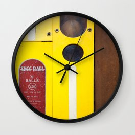 9 Balls Wall Clock