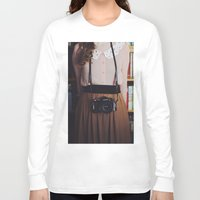 camera Long Sleeve T-shirts featuring camera by Jazza Vock