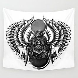 Egyptian Scarab Wall Tapestry