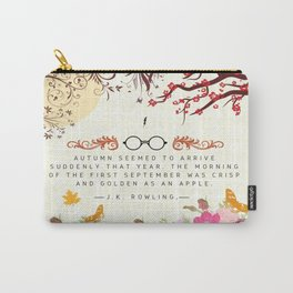 Deathly Hallows - HP quote Carry-All Pouch