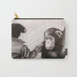 Child and Ape Carry-All Pouch