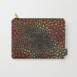 The Orange Stars Carry-All Pouch
