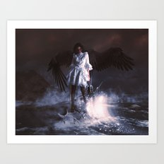 The Last Angel Art Print