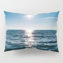 Sea Blue Sky sun Pillow Sham