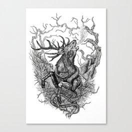 Low roar Canvas Print