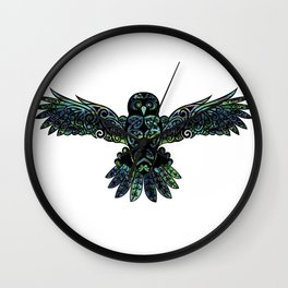 Morepork Wall Clock