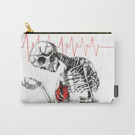 Sad Skeleton  Carry-All Pouch
