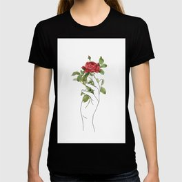 Flower in the Hand T-shirt