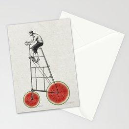 melon bike Stationery Cards