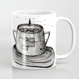 Malevich in sugar-bowl Coffee Mug