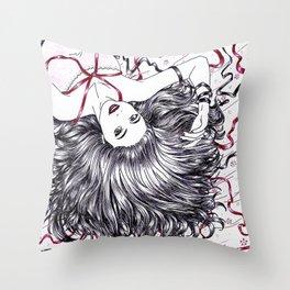 Bela adormecida Throw Pillow