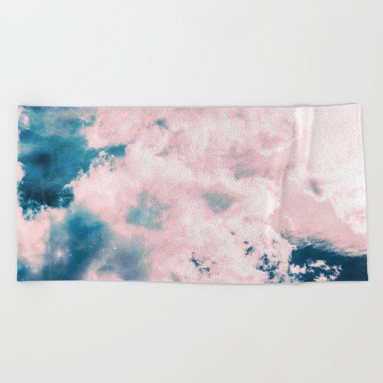 Aerial Sea Beach Towel