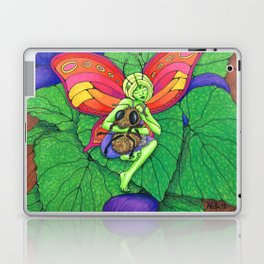 Fairy and Bee Laptop & iPad Skin